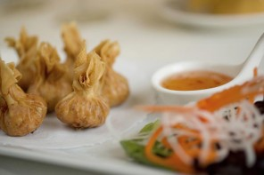 Chicken Buffalo Wontons