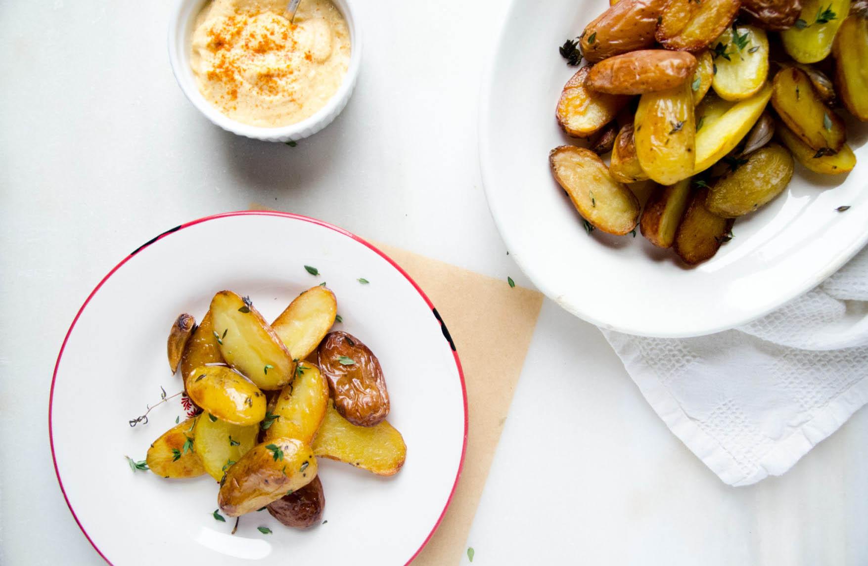 patatas-con-crema-de-calabaza-anacardos