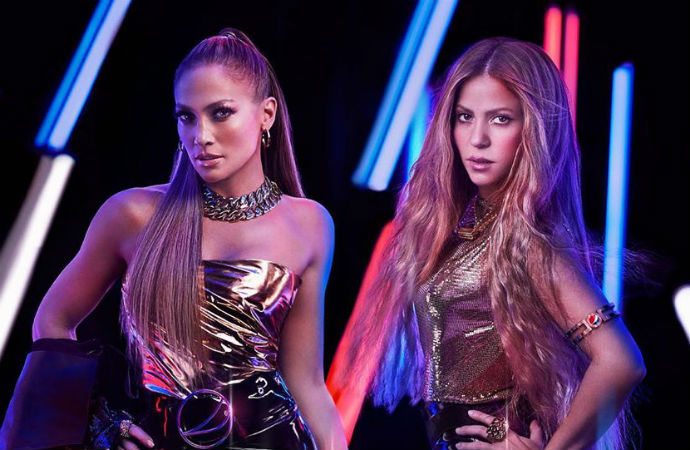 Jennifer Lopez y Shakira para el Super Bowl 2020
