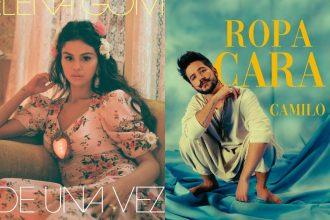 Nueva música de Camilo y Selena Gómez