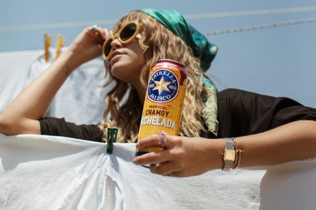 Sofía Reyes presenta nueva cerveza